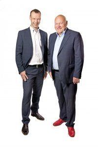 Rolf en Albert Meertens